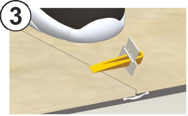 Andalsystem distanziatore livellante distanziatori - Cunei per piastrelle ...